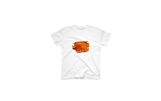 にんじんしりしりがデザインされたTシャツ